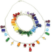 RAINBOW DROP JEWELLERY